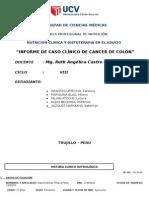 CASO CLINICO Cancer de Colon
