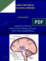 Sign & Symptoms in Neurological Disease