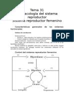 Tema 31 Sistema Reproductor y Anticonceptivos