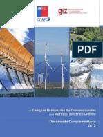 Energía renovables en el mercado chileno