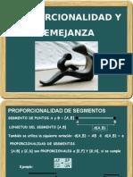 PROPORCIONALIDAD Y SEMEJANZA.pps