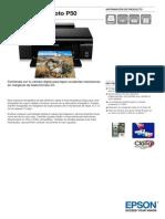 Epson-Stylus-Photo-P50-Información de producto