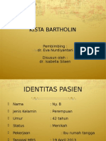 Presentasi Kista Bartholin