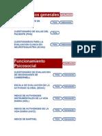 Diagnósticos generales