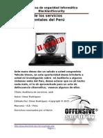 auditoriade Los Servicios Gubernamentales Del Perú