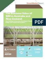 McGraw Hill Business Value of BIM ANZ