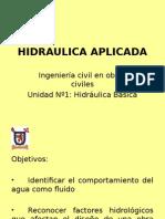 Hidraulica Aplicada Unidad N 1-2-199317