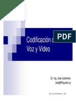 Codificacion de Voz y Video Presentacio