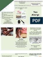 Tes Alergi Leaflet