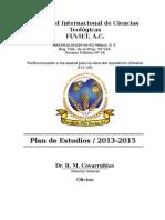 Plan de Estudios Facultad Teologica de Mexico