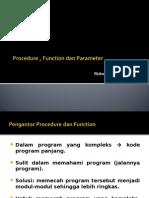Pascal Procedure