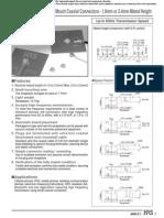 Montaje Conector UFL SMD