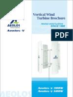Aeolos-V 300w.600w Brochure
