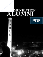 communication alumni cover as well as dr  howards letter