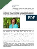Artigo sobre Rosa Lobato de Faria, in Publico