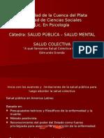 A Que Llamamos Salud Colectiva Hoy - Edmundo Granda