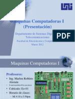 Maquinas Computadoras I
