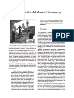 Fundamentalist–Modernist Controversy