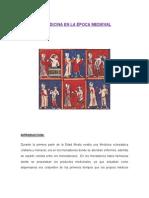 La Medicina en La Época Medieval