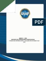 Manual de reporte de operaciones sospechosas