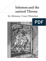 King Solomon and the Mechanized Throne