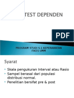 Uji T-test Dependen 2013