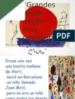 Joan Miro cuento