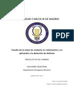 Estudio de La Elipse de Contacto en Rodamientos y Su Aplicac