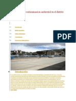 Problema de La Contaminacion Ambiental en El Distrito de Arapa