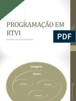 Apostila Programção 3 Prof. Julio C Fernandes Gêneros e Formatos TV