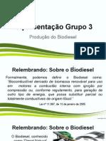 Apresentação Produção de Biodiesel