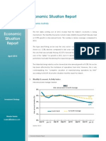 Economic Situation Report - April 2015