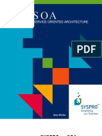 SYSPRO Service Oriented Architecture