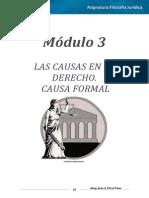 Filosofía Jurídica Módulo III