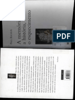 RICOUER, Paul. A Historia, a Memoria e o Esquecimento