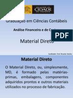 Aula 02 - Material Direto