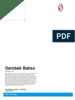 papercraft gerobak