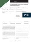 Percepción Del Apoyo Familiar en Los Consumidores de Drogas y Su Relación Con Trastornos Psiquiátricos