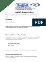 Configuration Generale Des Routeurs 3