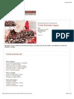 Torta floresta negra | Receitas | Bemsimples.com