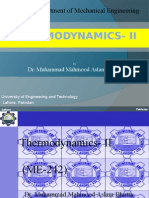 Thermodynamics II Compressors