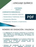 Bases Del Lenguaje Químico (Compuestos Inorgánicos)