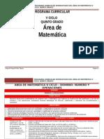 ÁREA MATEMÁTICA IV CICLO_5º Grado RUTAS.doc