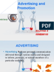 Advertisement and Promotion
