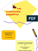 1.La Entrevista Psiquiátrica