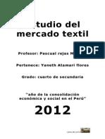 Estudio Del Mercado Textil Del OVINO