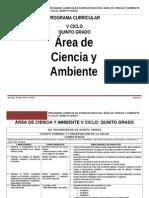 Ciencia Ambiente 5ºGrado RUTAS.doc