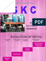 RETAIL MARKETING PRESENTATION - SUJI