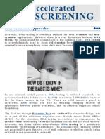 Legal DNA Testing