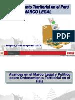 """Presentación - """"Ordenamiento Territorial en el Per.pdf"""